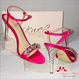 Badgley Mischka Jewel - Crystal Embellished Heels